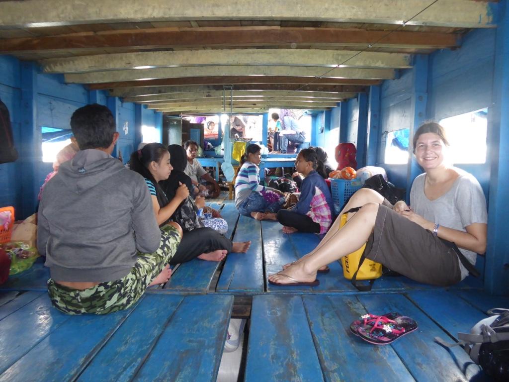 Bootsfahrt auf die Togian Islands